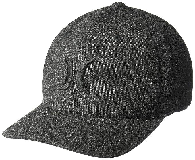 50e11f51 Hurley Men's Black Textures Baseball Cap