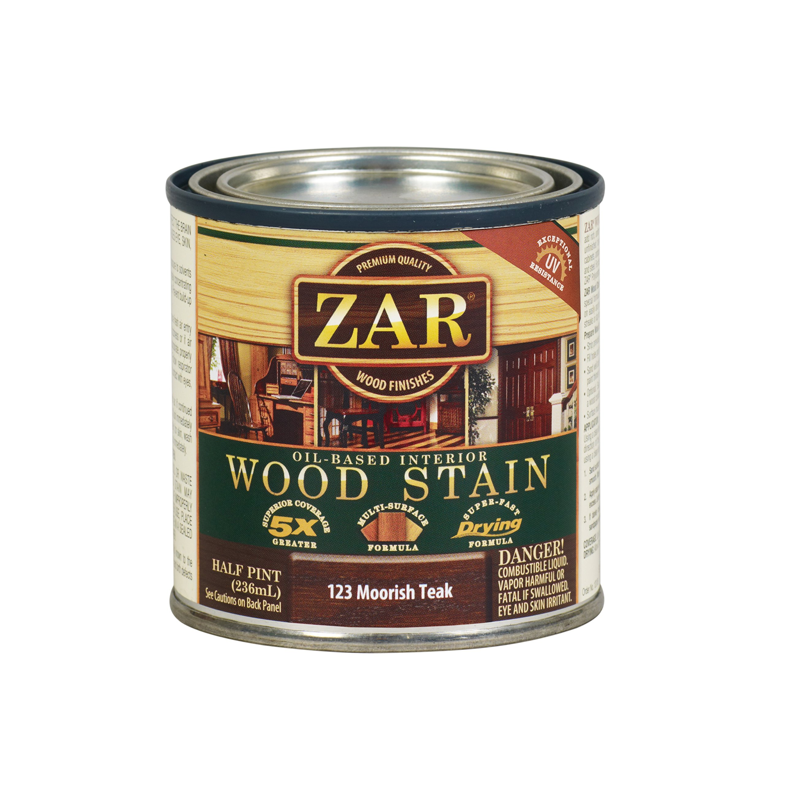 ZAR 12306 Wood Stain, Moorish Teak