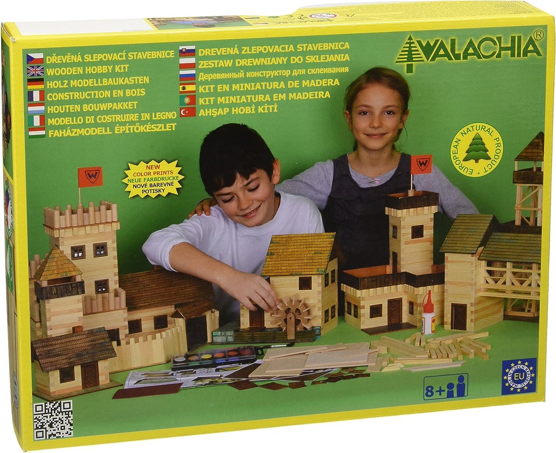 Walachia 8594036430099–Campana Torre Madera Modelo Diseño Set, de tren acoplamiento 1/LGB 1: 32 , color/modelo surtido