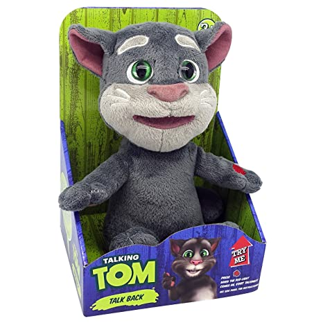 Amazon Com Dragon I Toys Mini Talking Tom Toys Games