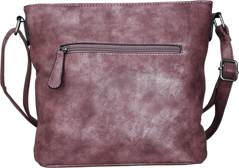 PiriModa Damen Luxus Stern Handtasche Schultasche Clutch TOP TREND Tragetasche
