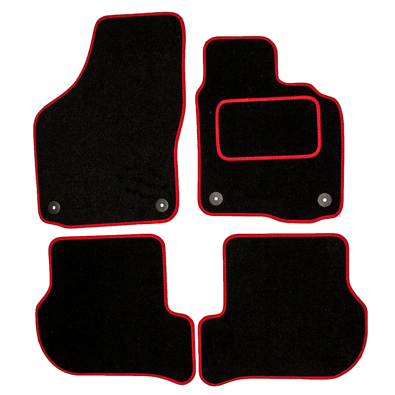 Sakura SS4703 Carpet Floor Mat Black Trim