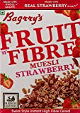 Baggry's Fruit n Fibre Muesli, Strawberry, 500g