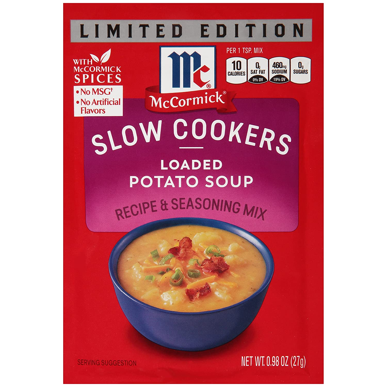 McCormick Limited Edition Loaded Potato Soup, 0.98 OZ