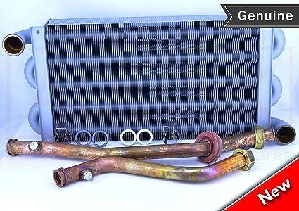VAILLANT Turbo Max Plus 824 824/2E Intercambiador de calor 102 Aletas 065085 064714