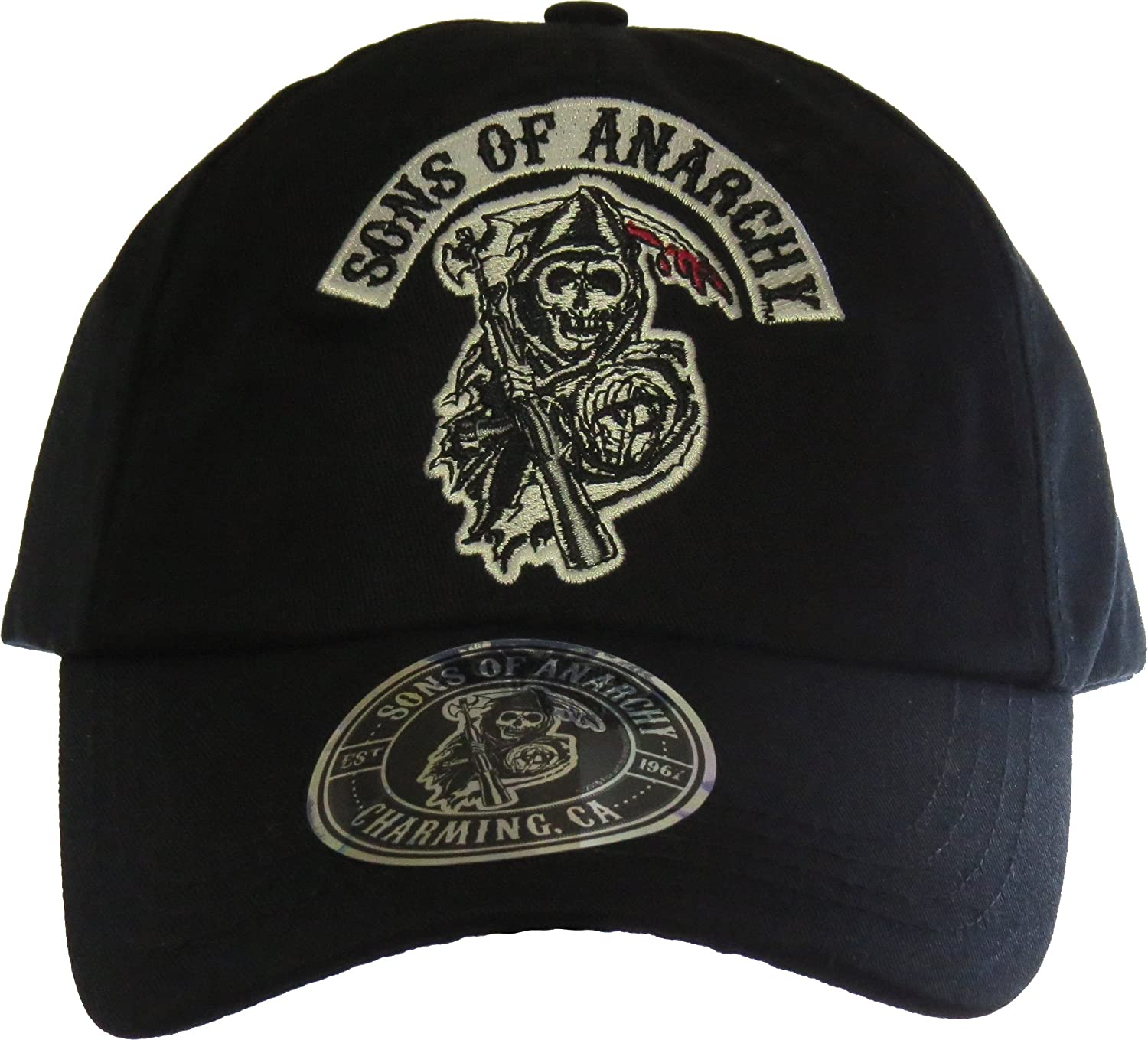 2ba87f72779 Sons of Anarchy Logo Cap  Amazon.co.uk  Toys   Games
