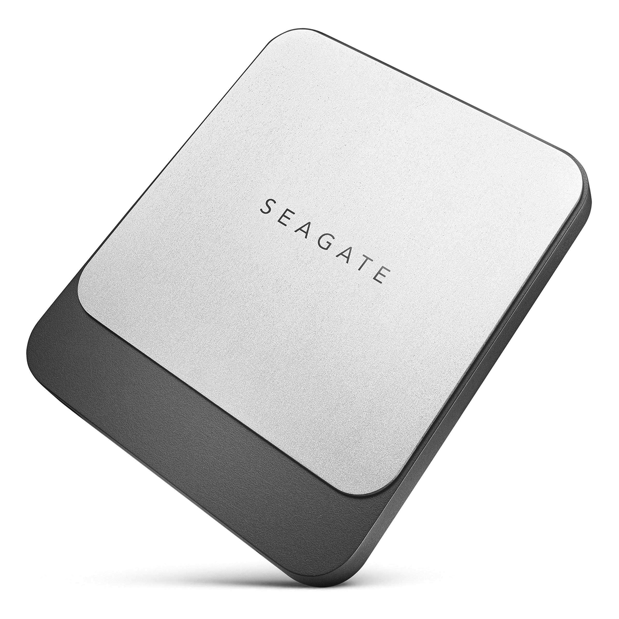 Seagate Fast SSD 500GB External Solid State Drive Portable - USB-C USB 3.0 for PC Laptop and Mac, 2 Months Adobe CC Photography (STCM500400) by Seagate (Image #1)