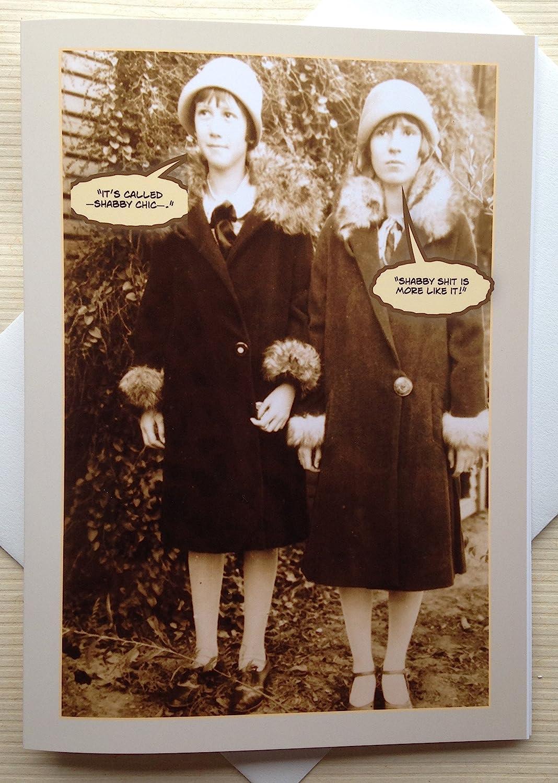 Vintage Photo Greeting Card