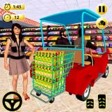Supermarket Easy Shopping Cart Driving Games