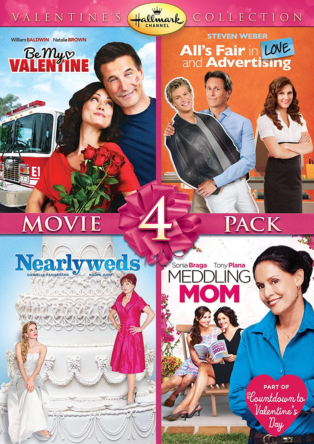 ... Fair In Love And Advertising, Be My Valentine, Meddling Mom,  Nearlyweds): William Baldwin, Sonia Braga, Steven Weber, Naomi Judd, None:  Movies U0026 TV