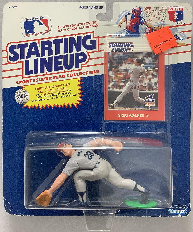 1988 KENNER STARTING LINEUP MLB GREG WALKER CHICAGO WHITE SOX MOC