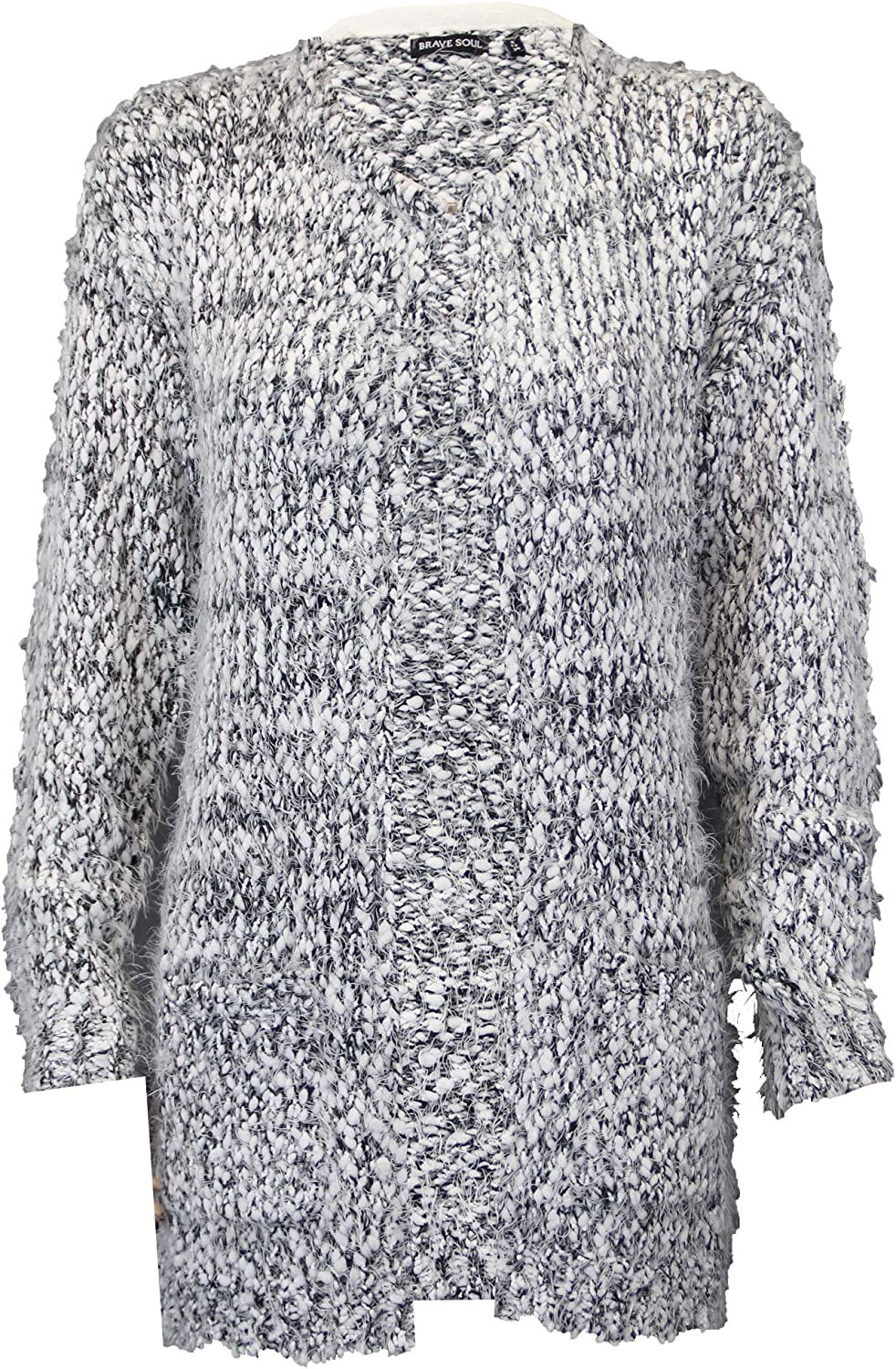 Brave Soul Womens Mohair Knitted Cardigan 285TAYLOR