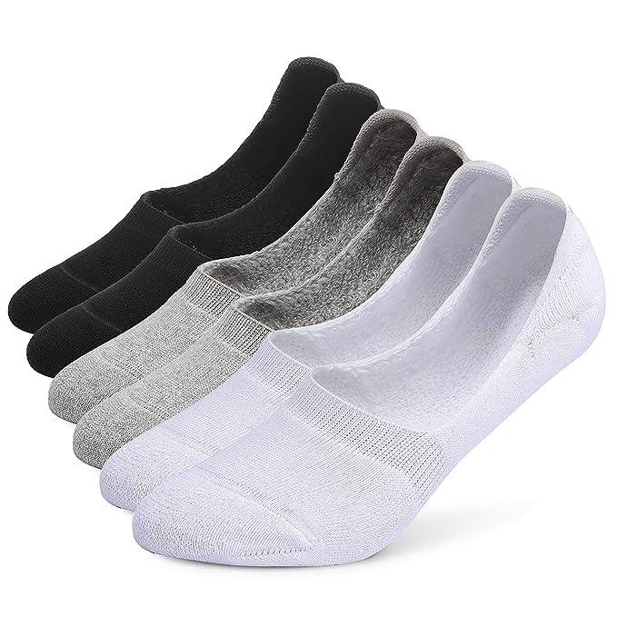 Amazon.com: Leotruny - 6 pares de calcetines de algodón para ...