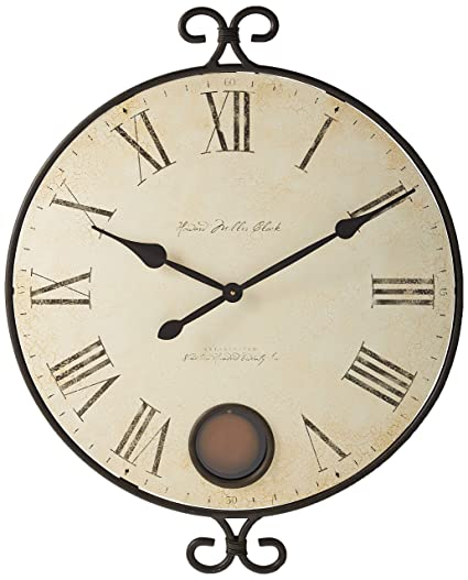 Amazon Com Howard Miller 625 310 Magdalen Wall Clock Home Kitchen