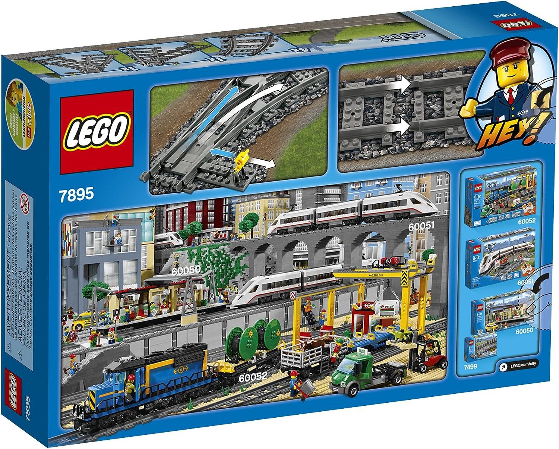 NEW LEGO City Flexible Tracks 7499 Train Toy Accessory FREE SHIPPING