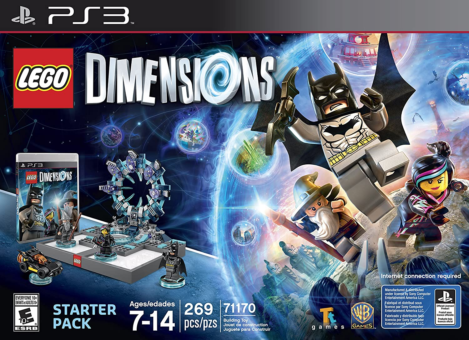 New Lego Games For Ps3 : Amazon lego dimensions starter pack playstation video games