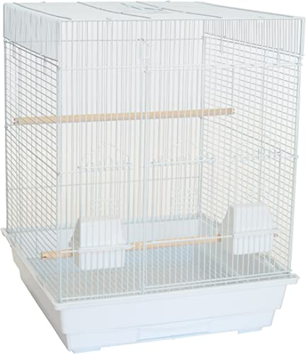 YML A5824 3 8 Bar Spacing Square Top Small Bird Cage