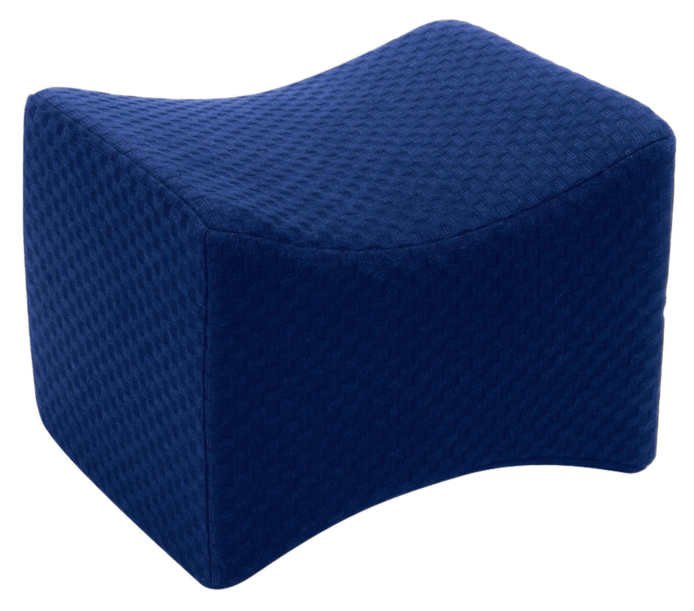 Carex Knee Pillow, Ergonomic Memory Foam Pillow for Reducing Lower Back and Leg Discomfort for Better Sleep