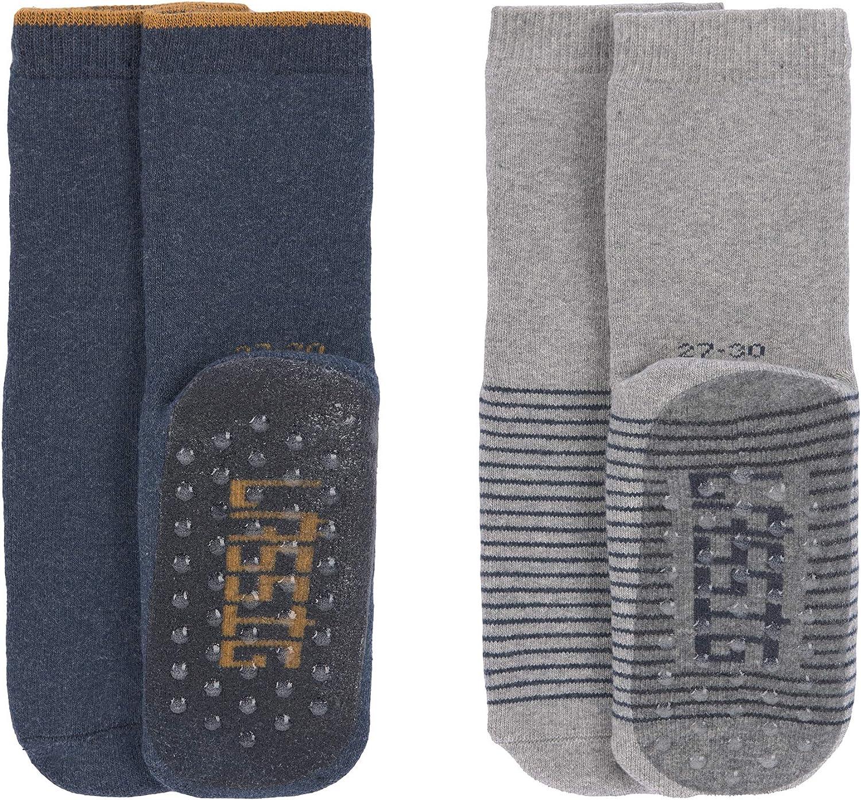 L/ÄSSIG Unisex Kinder Anti-Rutsch Socken