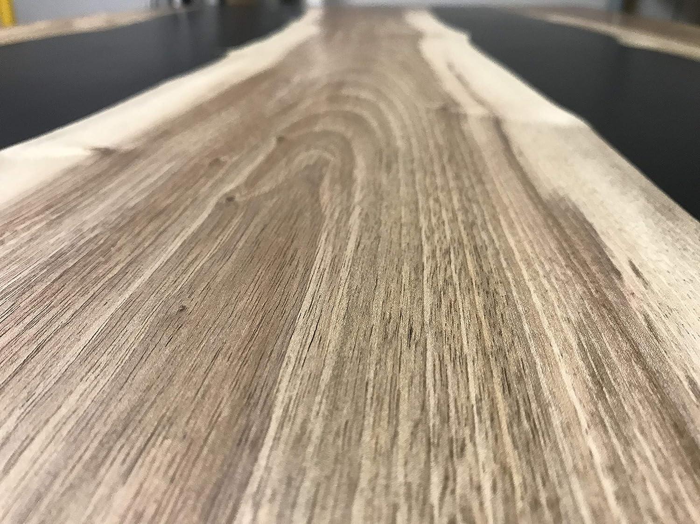 Mesa river de resina epoxi y madera de nogal: Amazon.es: Bricolaje ...
