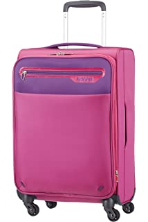 American Tourister Hand Luggage, 40 Liters, Pink/ Purple 66139 ...