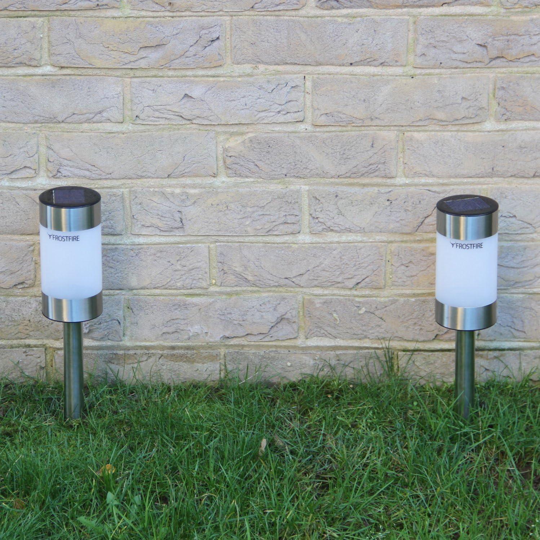 Frostfire Small Solar Post Lights