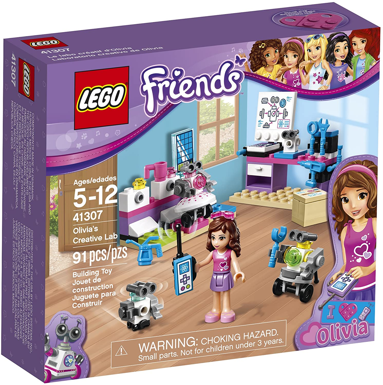 Lego Friends Olivia's Creative Lab 41307 Building Kit