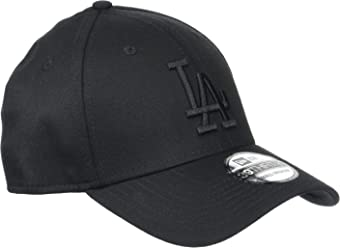 New Era 39Thirty Stretch Cap - LA Dodgers Black
