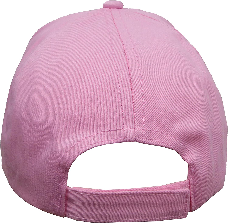 Size 4-14 6014 Shopkins Girls Pink Baseball Cap