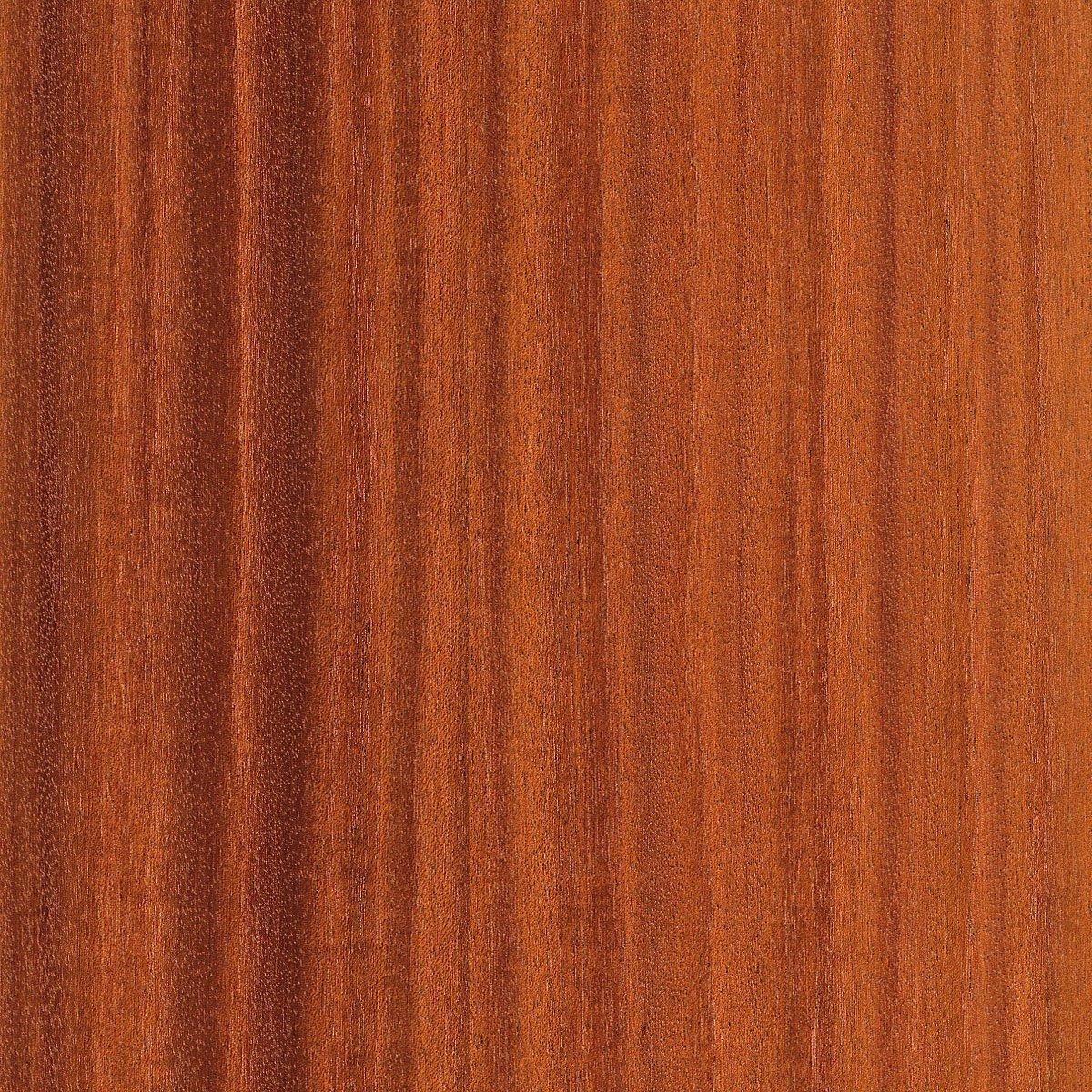 Mahogany Wood Veneer Qtr Ribbon 4'x8' 10 mil Sheet