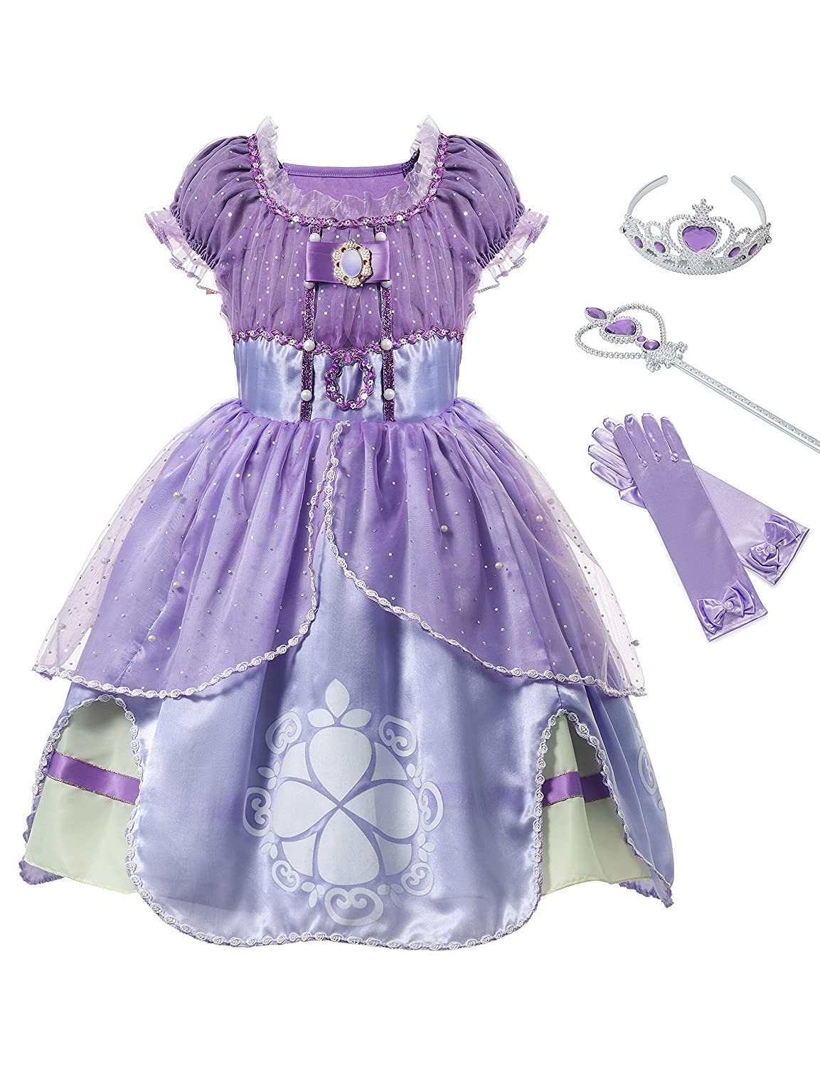 07bd976f8f Made from non-itchy and very comfortable fabric. Package includes  Princess  dress