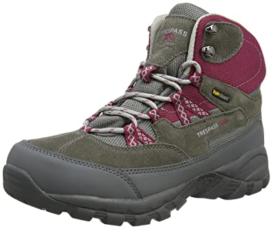 Merse, Chaussures de Randonnée Hautes Femme, Gris (Frost), 36 EUTrespass