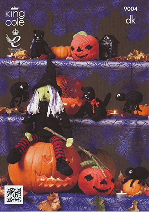 King Cole Knitting Pattern 9004 Halloween Patterns For Witch Cat