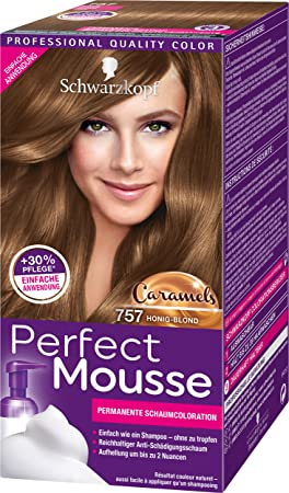 Perfect Mousse Tinte permanente 650, 3 unidades, (3 x 93 ml ...