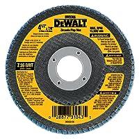 DEWALT DW8318 5-Inch by 7/8-Inch 80-grit Zirconia Flap Disc