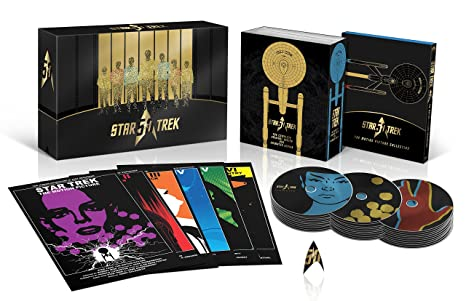 star trek 50th anniversary blu ray review