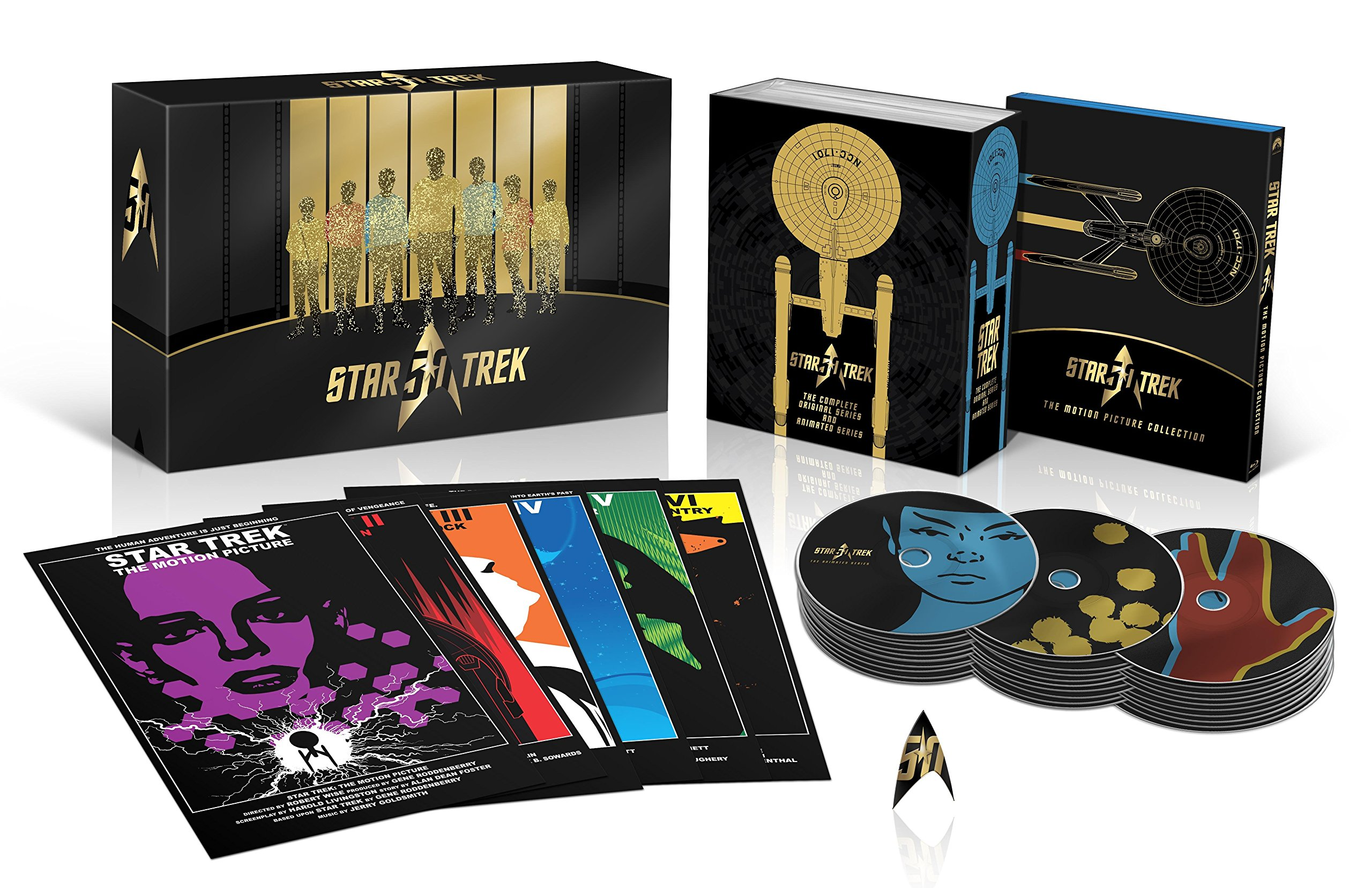 Star Trek 50th Anniversary TV and Movie Collection [Blu-ray] by Paramount