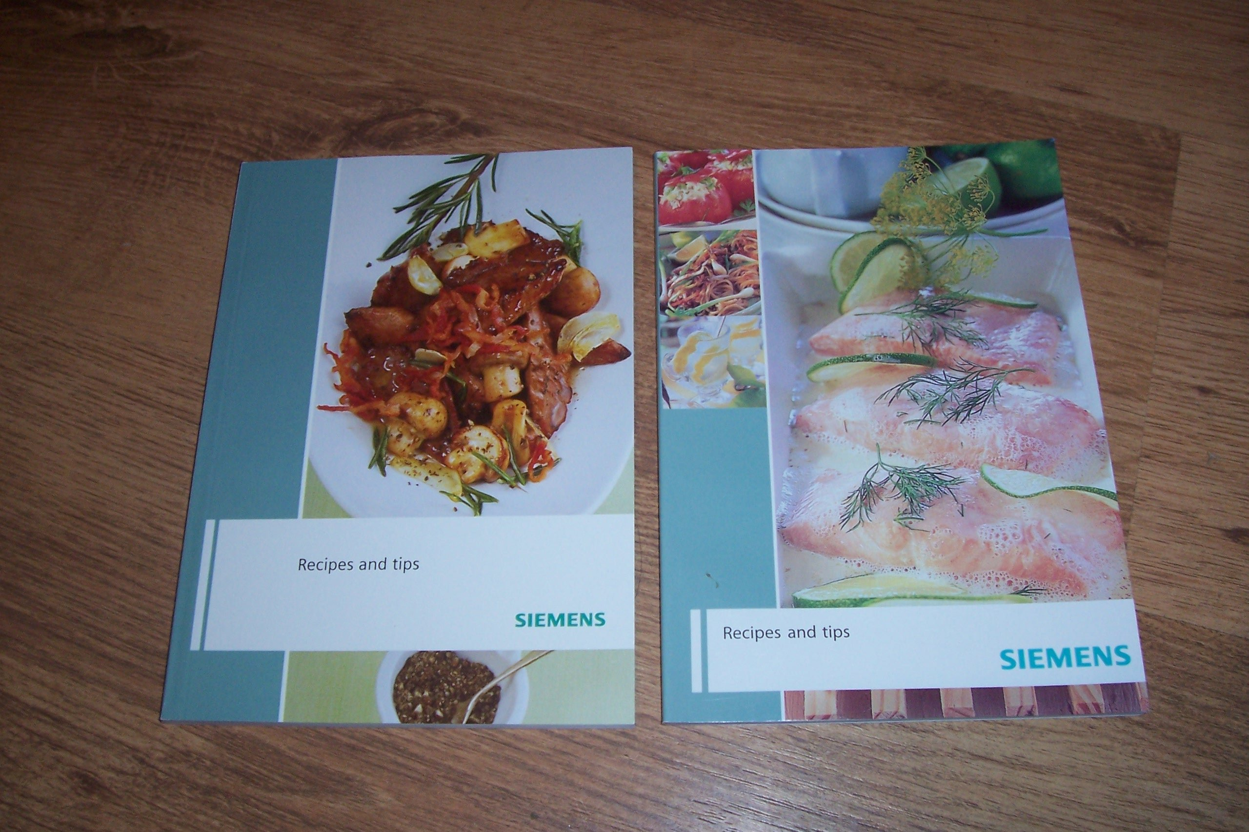 SIEMENS: Recipes and Tips (2 Books): Amazon co uk: Anon: Books