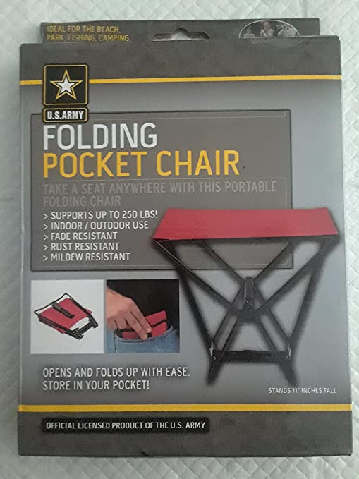 Tremendous Us Army Folding Pocket Chair Inzonedesignstudio Interior Chair Design Inzonedesignstudiocom