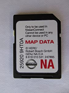 9HT0A NISSAN CONNECT SD CARD , NAVIGATION GPS MAP DATA , NAVTEQ,NORTH AMERICA US CANADA 2017 UPDATE, 25920-9HT0A ,fits 14-15 ROGUE JUKE ALTIMA SENTRA XTERRA FRONTIER and 2015 NV200