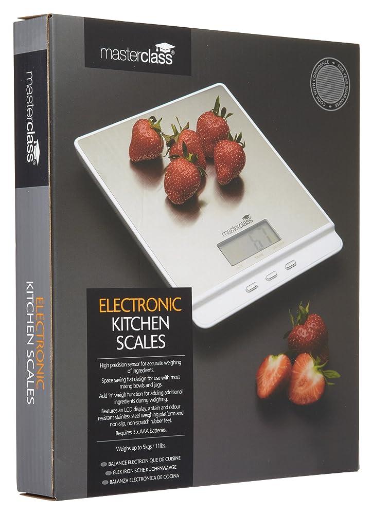 MasterClass Stainless Steel Digital Kitchen Scales, 22 cm (8.5 ...