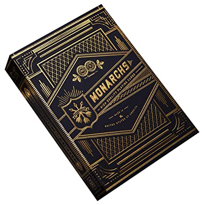 Monarch Playing Cards by theory11: Billy Reed: Sports & Outdoors