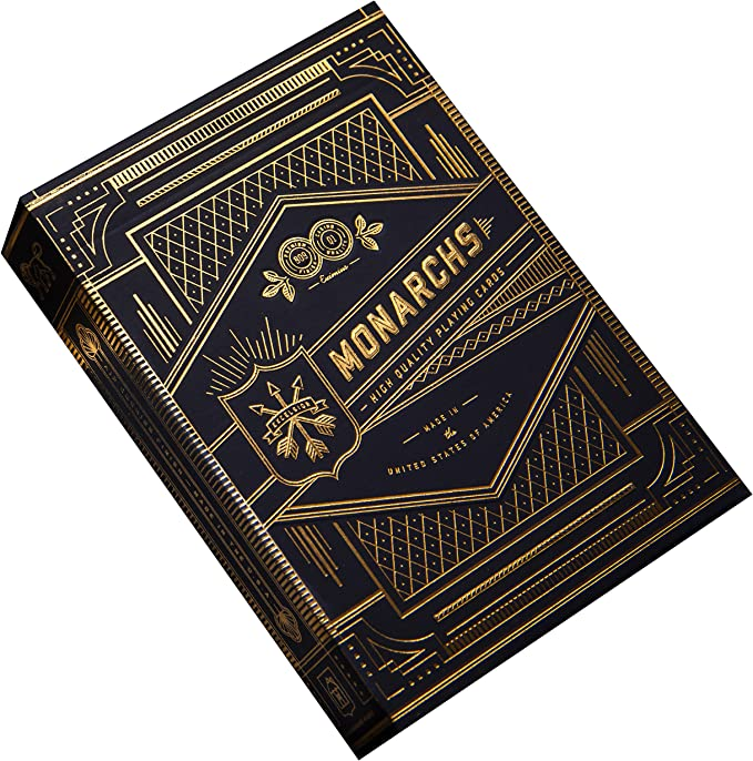 Amazon.com: Monarch Playing Cards by theory11: Billy Reed: Sports & Outdoors