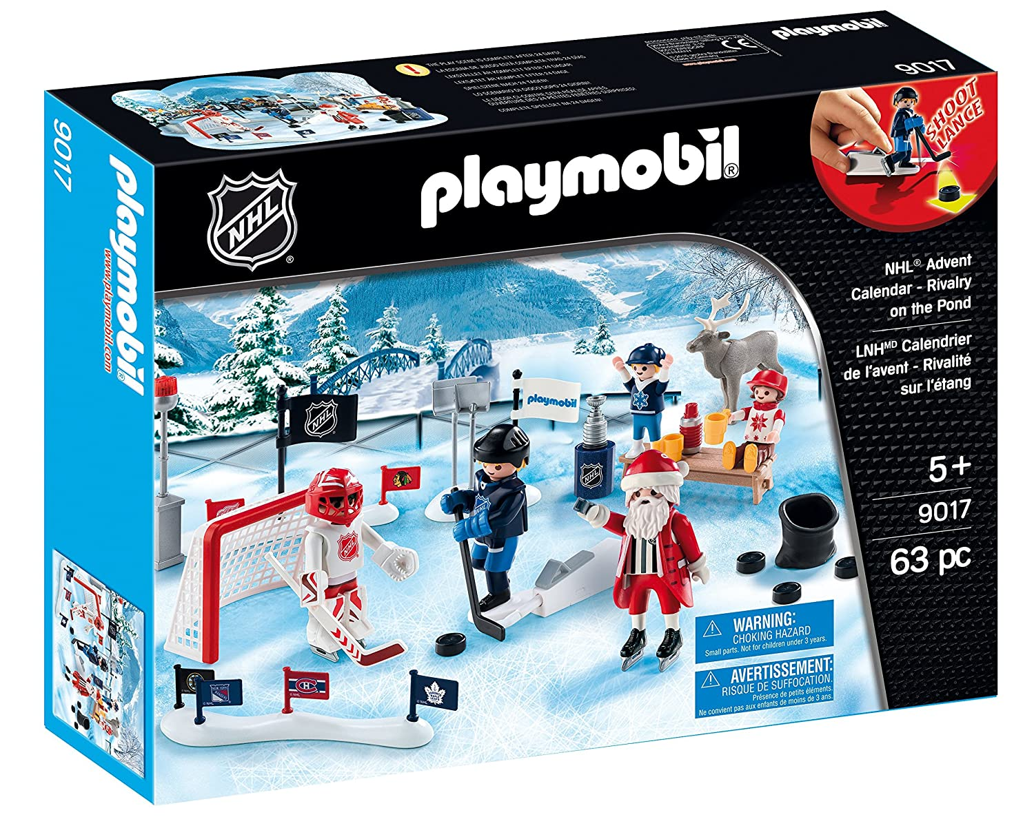 Playmobil 9017 NHL Advent Calendar Rivalry on The Pond Playset Playmobil Canada