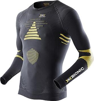 X-Bionic - Calzoncillos de esquí Touring EVO UW Camiseta LG SL (Cuello En V: Amazon.es: Deportes y aire libre