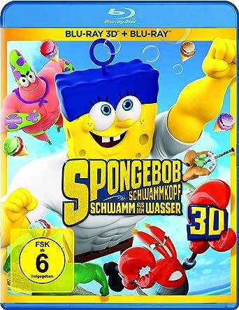 Spongebob Schwammkopf Schwamm Aus Dem Wasser Blu Ray 2d And 3d