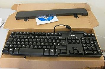 DELL teclado USB con lector de tarjetas inteligentes, QWERTY ...
