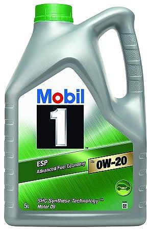Mobil 1 ESP X2 0 W-20 Aceite de Motor, 5 litros