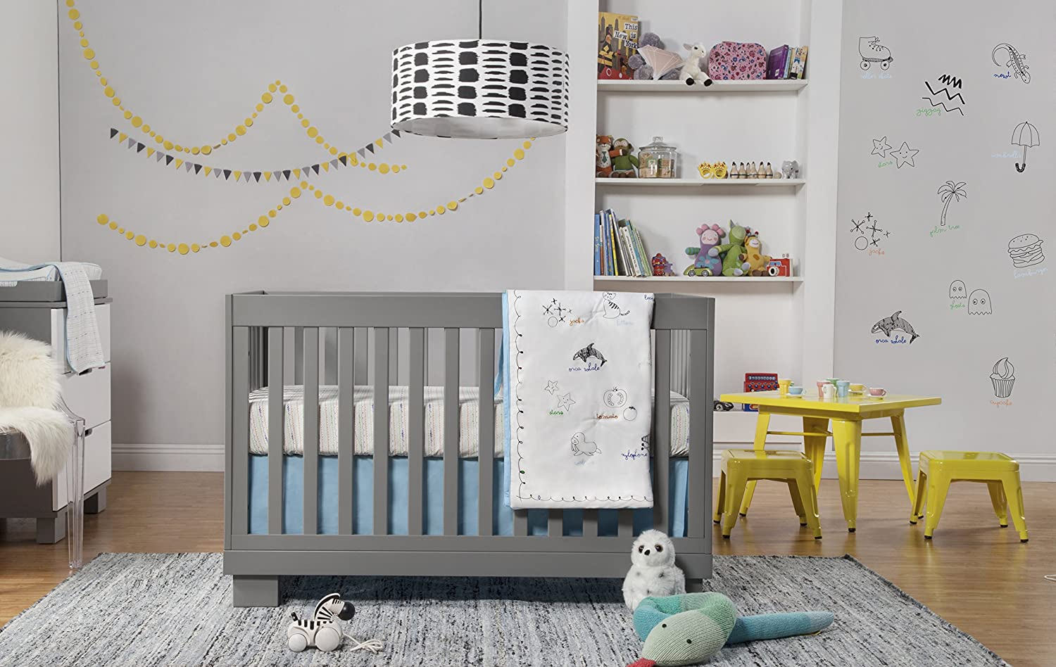 amazoncom  babyletto modo in convertible crib with toddler bedconversion kit grey  baby. amazoncom  babyletto modo in convertible crib with toddler