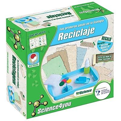 Science4you - Los primeros pasos en la Ecología - Reciclaje - Juguete Educativo Y Científico: Juguetes y juegos